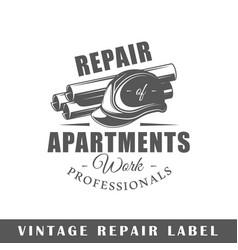 Repair label vector