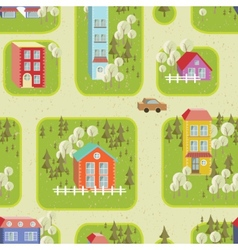 Street seamless pattern 2 vector