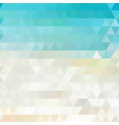 Sunny abstract geometric background vector