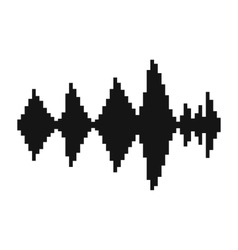 Audio digital equalizer technology icon vector