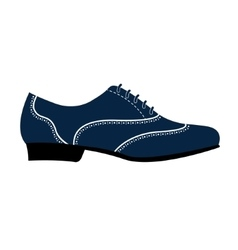 Man s shoe vector