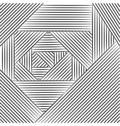 Geometric pattern zentangle vector