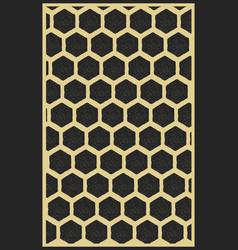 vintage geometric pattern vector image