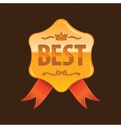 best gold vector image