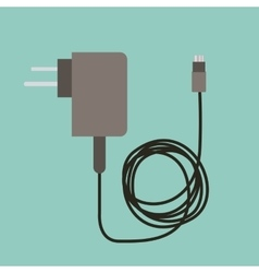 Cellphone charger design vector