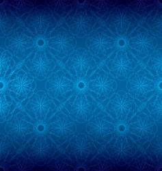 floral spiral background vector image vector image