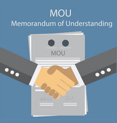 Mou memorandum of understanding vector