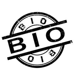 Bio stamp rubber grunge vector