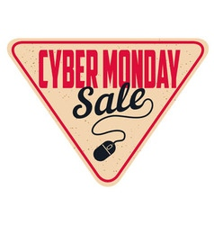 cyber monday sale2 vector image