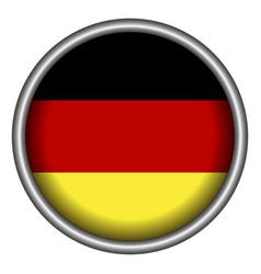 Isolated german badge vector