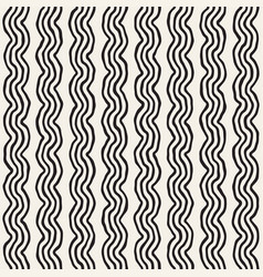 Roughly drawn wavy stripes stylish graphic texture vector