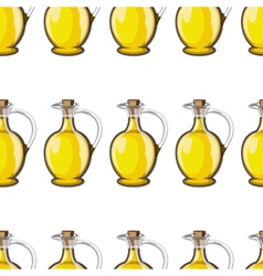Bottle of olive oil vector