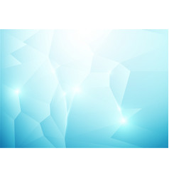blue abstract low polygonal background vector image