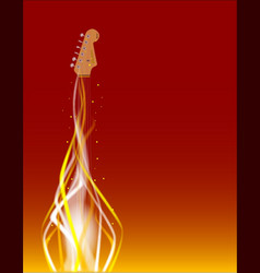 Dancing in fire vector