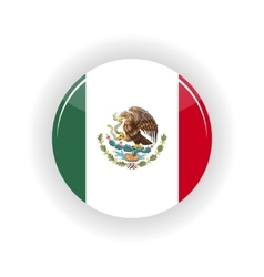 Mexico icon circle vector image