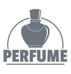 Perfumery logo vintage style vector