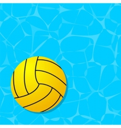sport ball floating vector image vector image