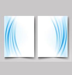 brochure templateannual reportflyersmagazine vector image vector image