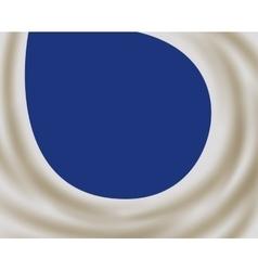 Milk wave splash background vector image