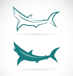 Sharks vector image
