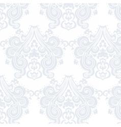 Vintage Damask swirl flower pattern vector image vector image