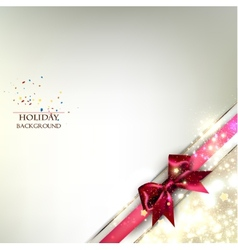 Elegant Christmas banner Golden background with vector image