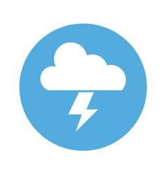 Cloud thunderbolt light creativity idea vector