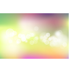 Colorful spring background vector