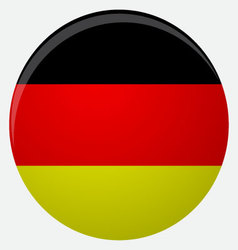 Germany flag icon flat vector image