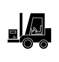 Loader icon sign on isolate vector