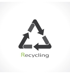 recycling vector image