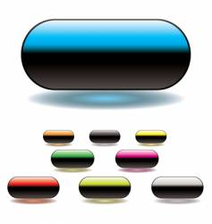 split button vector image vector image