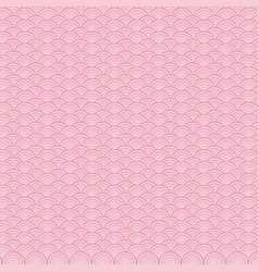 Pink seamless pattern decoration round abstract vector
