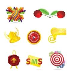 symbols set vector image
