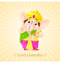 Lord ganesha vector