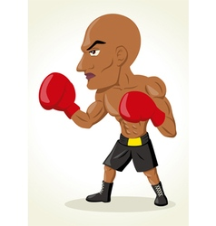 Boxer Cartoon vector image