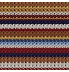 weaving fabric vector image