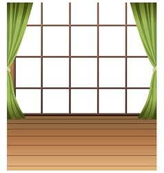 Window interior background vector