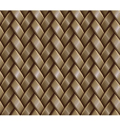 basket weaving vector image