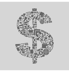 Office dollar vector