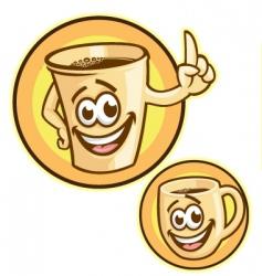 Coffeecup vector