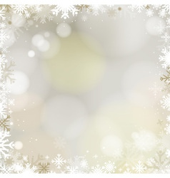 Abstract holiday christmas golden light background vector