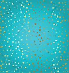 gold stars background 2709 vector image vector image