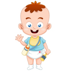 Baby vector image