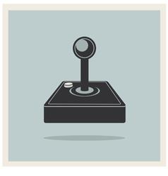 Computer Video Game Joystick vector image