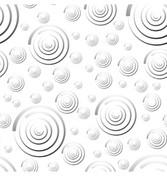Seamless pattern of rounds for background vector