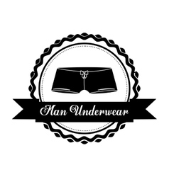 Men underwear design vector