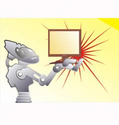 Computer and robot vector