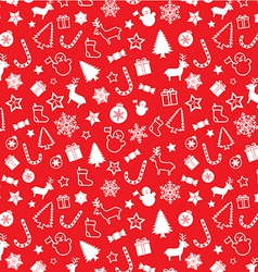 Christmass seamless pattern vector