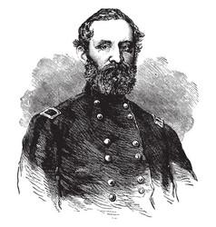 General george w morgan vintage vector